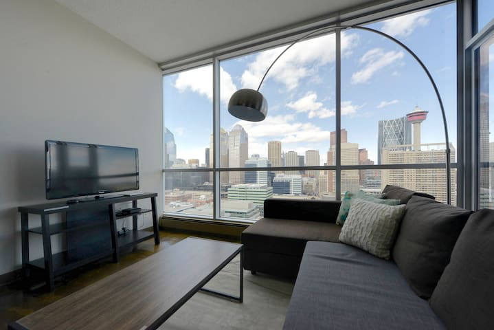 3BD Sub-Penthouse #1 View in Downtown
