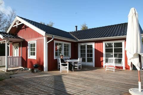 Modern Holiday Home in Maribo Denmark with Garden