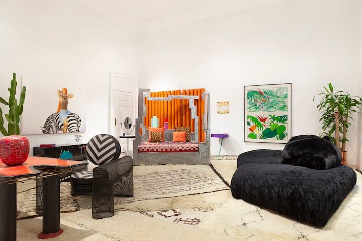 Casa Artistica con Piscina nel Cuore di Milano