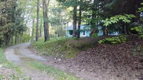 Family Cottage with Lake Michigan Private Access