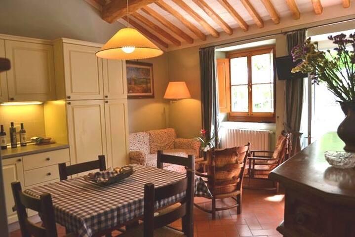 Appartamento 4 persone con piscina 7 km da Firenze