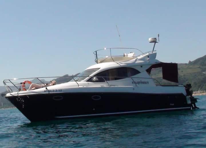 En el agua  ¡¡ Experiencia Nautica !!