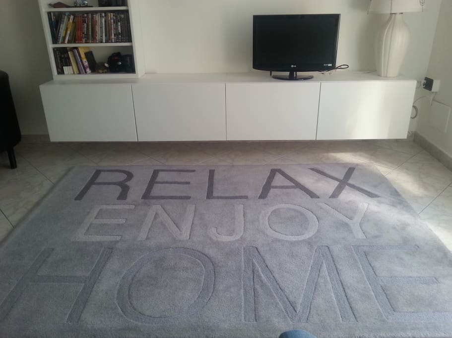 Relax, enjoy, home