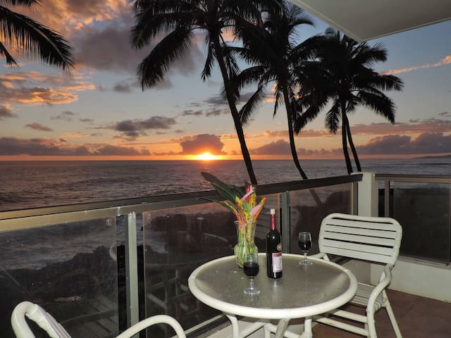 Poipu Shores 201A 2BR Oceanfront