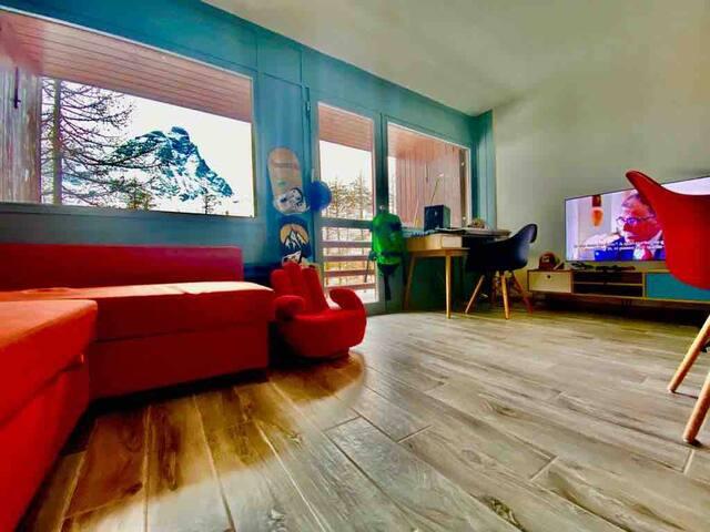 Appartamento con vista sul Cervino