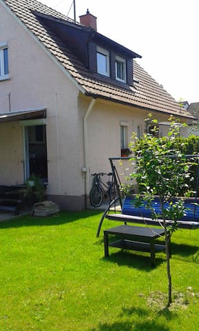 Nice apartment close to Stuttgart and Ludwigsburg - Asperg - Lägenhet