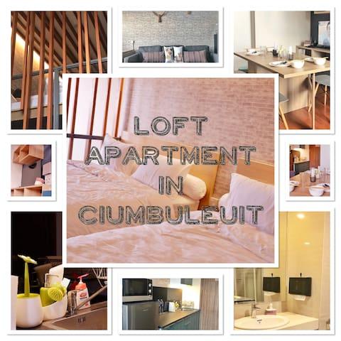 STunning LOFT CIUMBULEUIT (NEW MINIMALIST design)