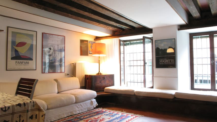 San Rocco Apartment, with canal view
