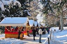 L'appartamento è situato a pochi chilometri dai Mercatini di Natale di Trento, Levico Terme e Pergine.