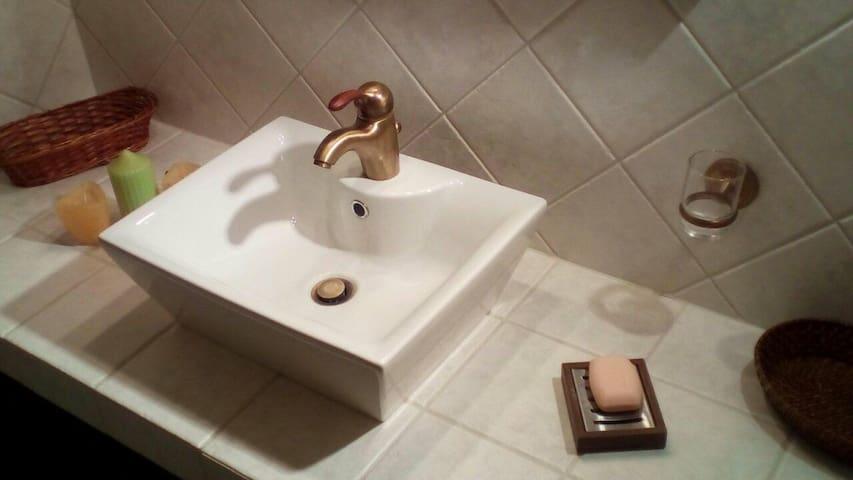 Secondary bathroom