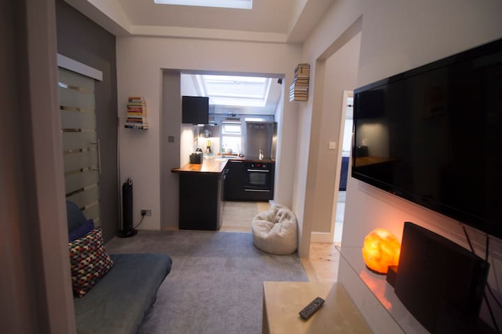 Chic, modern apartment in trendy Chiswick