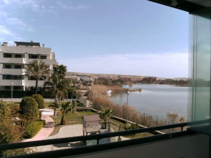 Beautiful appartement with large terrace and pool