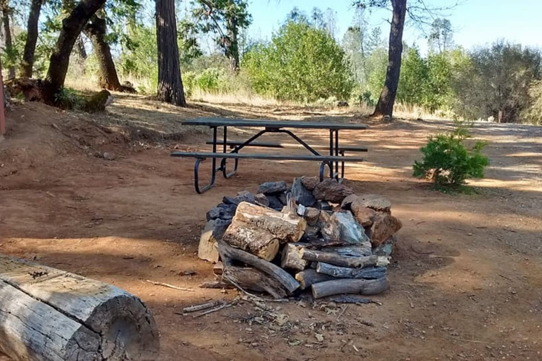 Central campsite