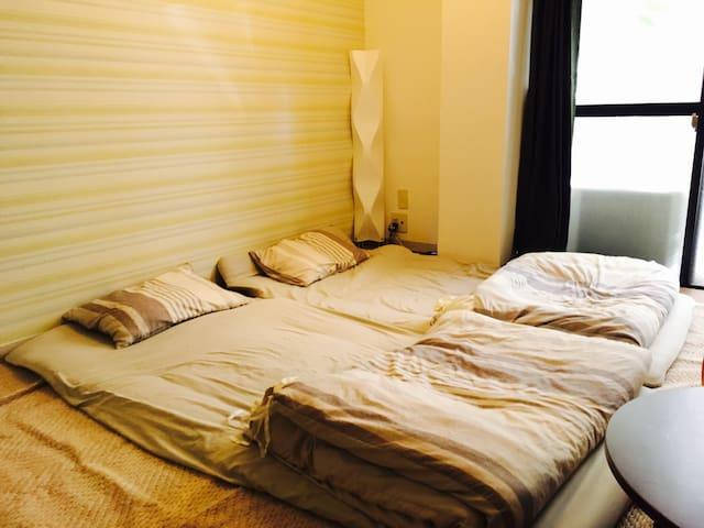 KameHouse Yoyogi 6pp Whole room Wi-Fi Japan Style!