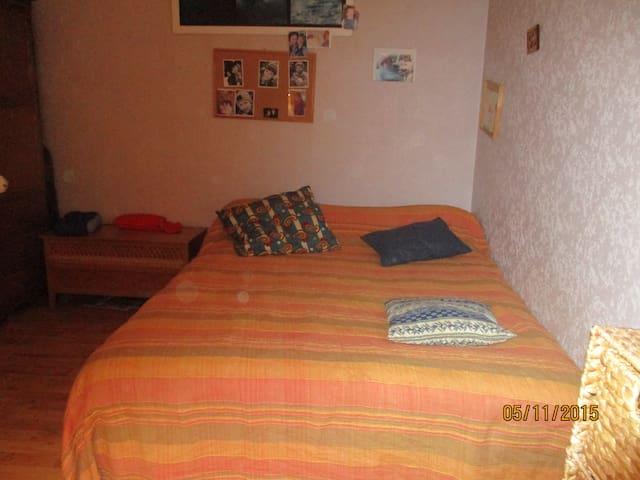 CHAMBRE POUR 1PERSONNE ou pour couple possible - Chalon-sur-Saône - Apartment