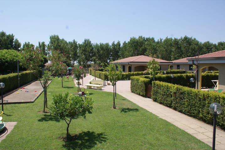 Casa vacanza sul mare a Monasterace M.na (7 posti)