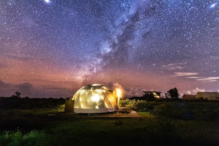 Star Gazing Dome (Sagittarius) on Private Ranch