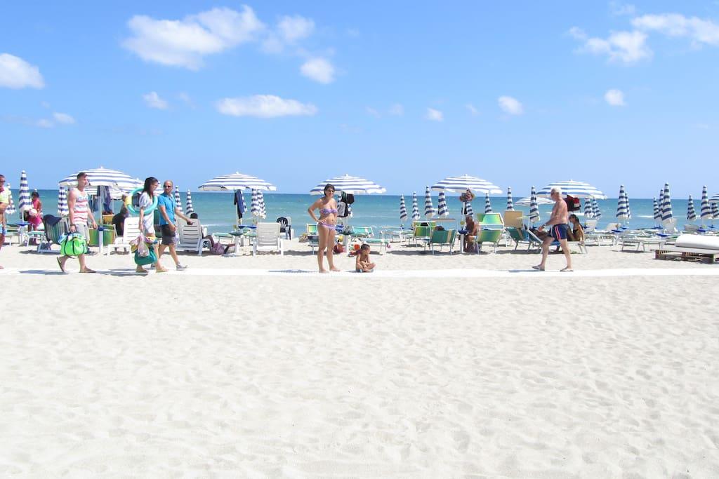 Profondità spiaggia