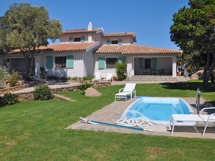 Puntaldia 380 1 townhouses in affitto a san teodoro for 3 piani di camera da letto 2 bagni piani 1 storia