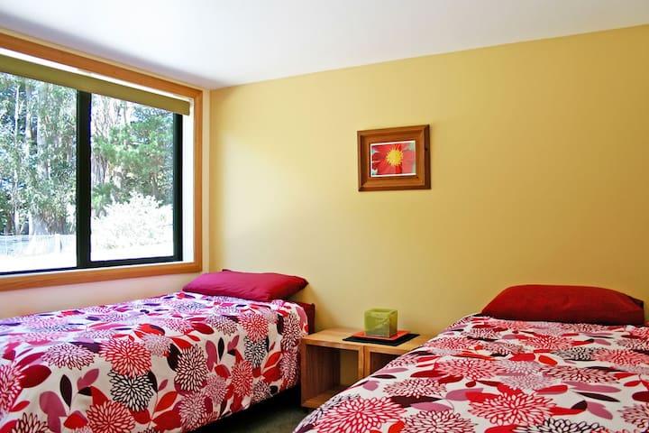 Bedroom 2, superking or 2 single beds