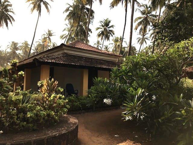 Goan Beach house on Anjuna Beach