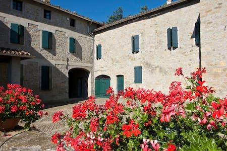 B&B CorteBonomini - Campora di Neviano degli arduini - 家庭式旅館