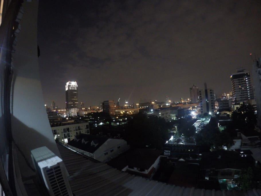 The wonderful view of Bangkok night !
