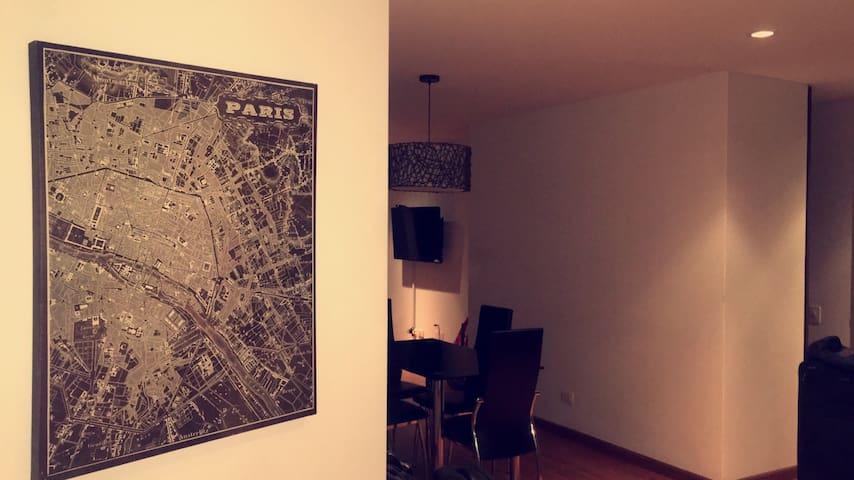 Charming Suite at Bogota ZonaRosa - Bogotá - Leilighet