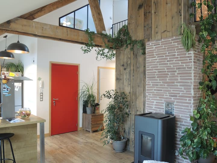 Loft atypique hyper centre Remiremont