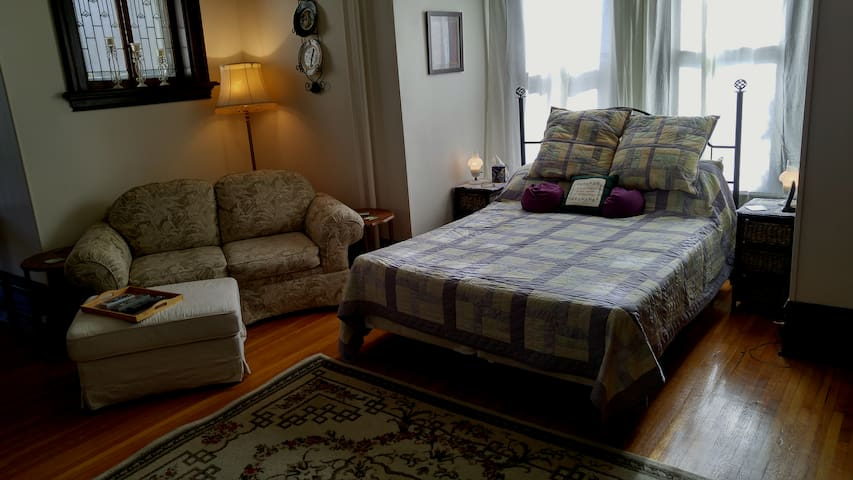 Welcome to your own bachelor suite, a home away from home!