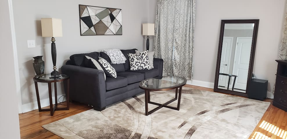 Cozy apartment seconds from downtown Greenville