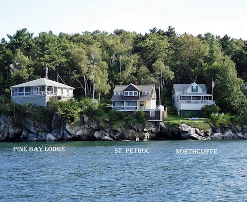Peaks Island, Maine, Northcliffe Cottage