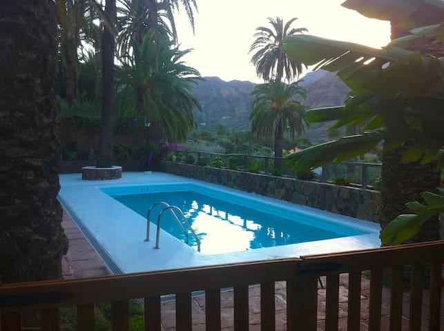 Casa De Ana-Oasis de palmiers y oliviers avec une - El Ingenio - Dom wakacyjny