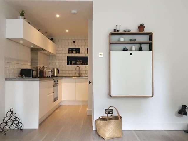 73B: A unique, city centre, main door apartment