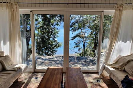 Incredible 1st line house in Todos Los Santos Lake