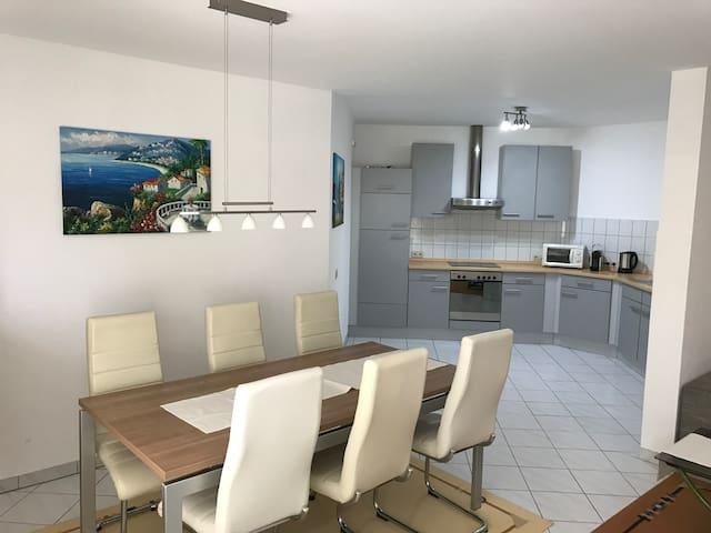 Ferienwohnung mit freier Sicht auf die Natur - Hördt - Apartment