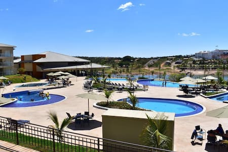 APTO H405 ILHAS DO LAGO ECO RESORT- CALDAS NOVAS