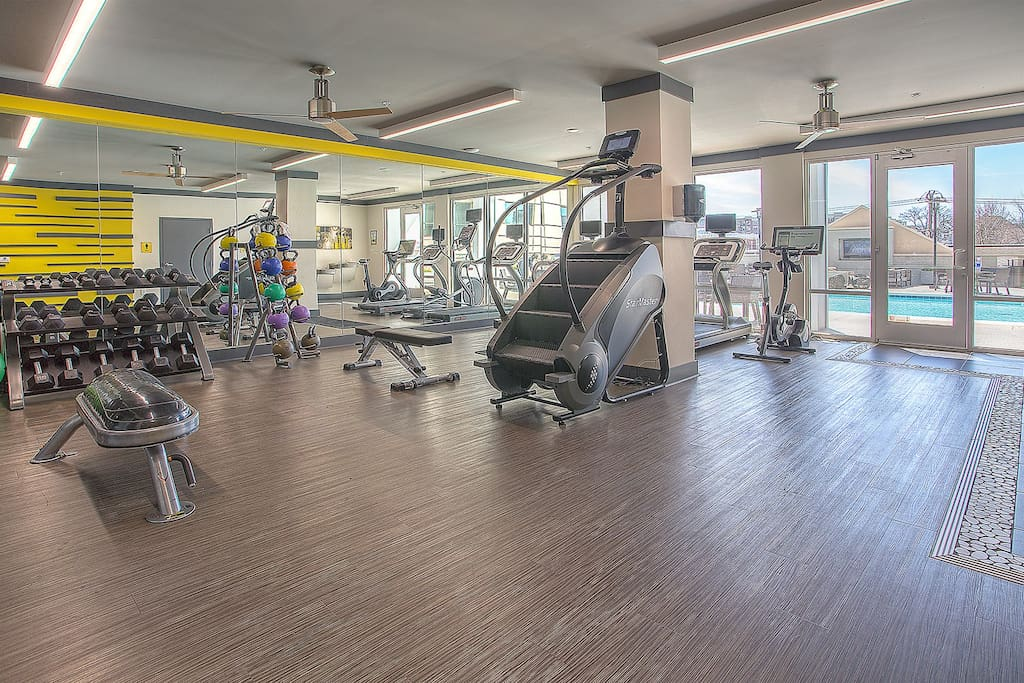 Stay Alfred Nashville Vacation Rental Fitness Center