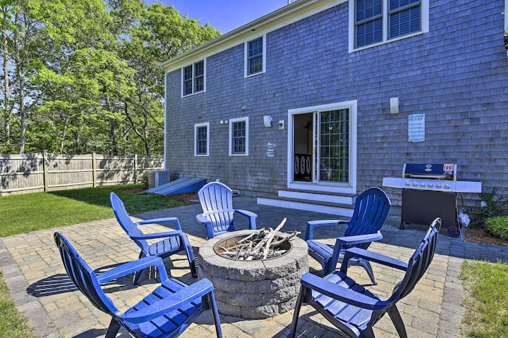NEW! Cape Cod Home w/ Game Room, 3Mi to Mayflower!