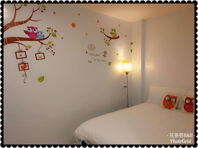 優雅套房,提供旅人簡單乾淨的住宿~1人住宿不含早餐(加價住第2人$500)