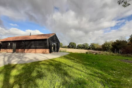 Beautiful, secluded barn with panoramic views
