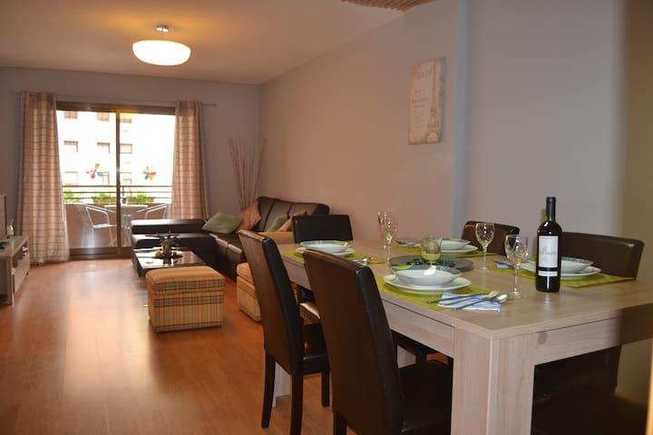 An apartment near the AVE station. Valencia