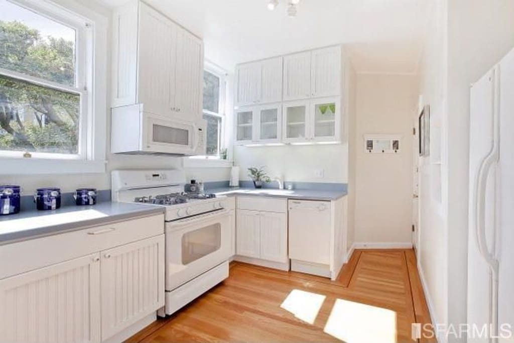 Recently renovated kitchen including dishwasher
