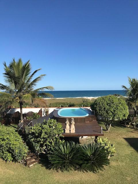 AMAZING BEACHFRONT HOUSE IN BRAZILIAN SURF CAPITAL