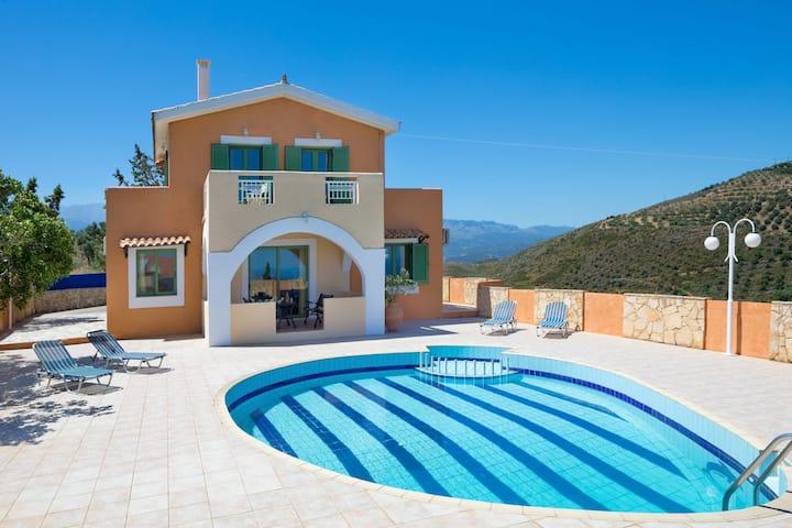 Villa Erato, 3 BD, 3 BA, private pool