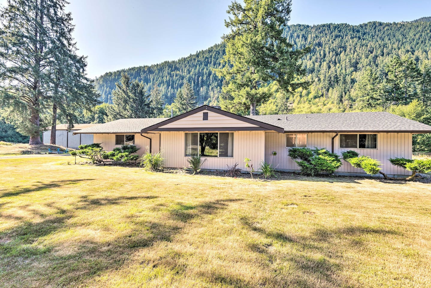 Escape to Port Angeles for a mountain side getaway at this vacation rental!