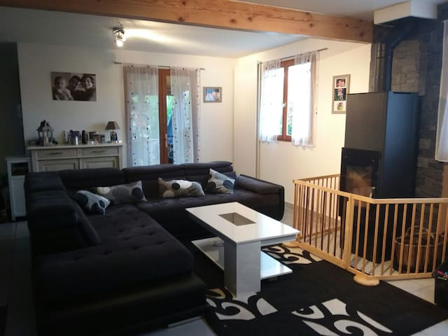 Grande maison familiale 2 mn du lac - Thonon-les-Bains - Huis