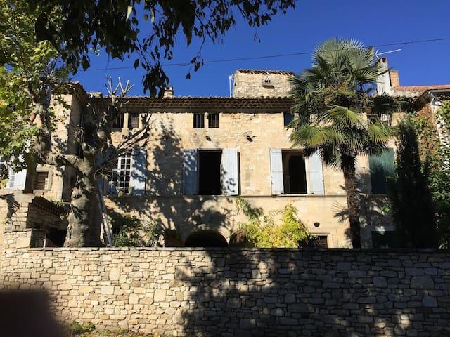 Large manor house Ardèche - Laval-Saint-Roman - Hus
