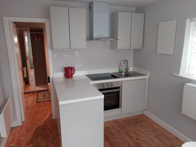 One bed fully self contained apartment