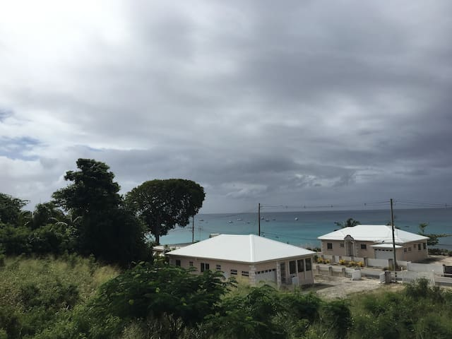 View from deck of Seaview Villa